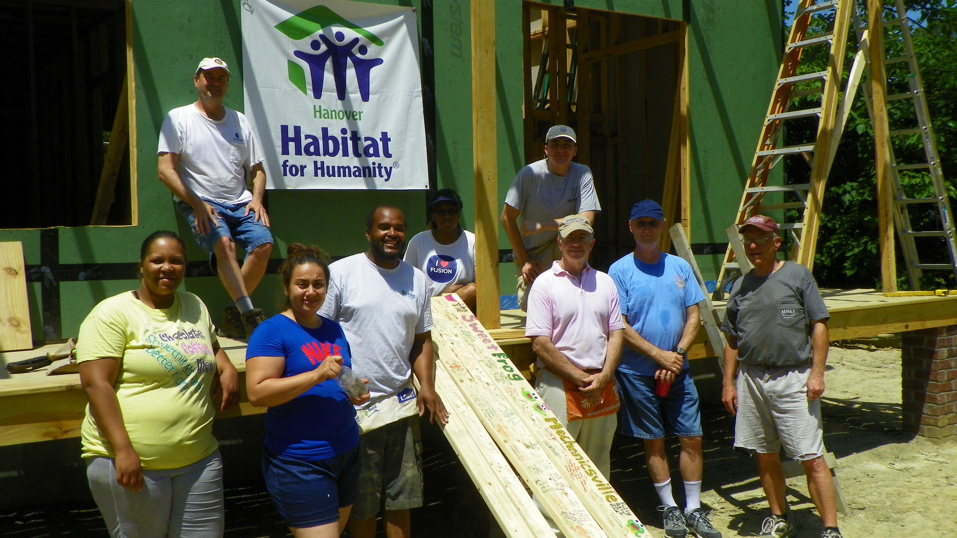 Habitat for Humanity, June 1